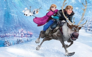 Холодное сердце: Олаф, Анна, Кристофф и Свен