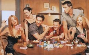 Покер в сериале Друзья :)