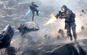 Titanfall битва