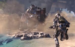 Titanfall кадр из игры