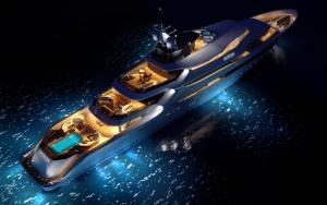 Шикарная яхта