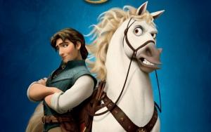 Флинн Райдер и конь Максимус