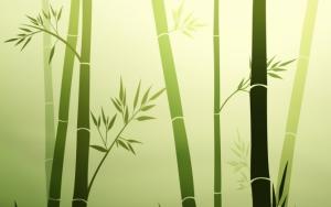 Нарисованный бамбук