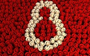 8 марта из роз