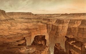 Рисунок Гранд каньона