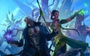 Эльфийка и воин