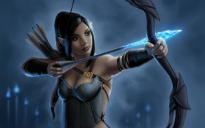 Эльфийка лучница