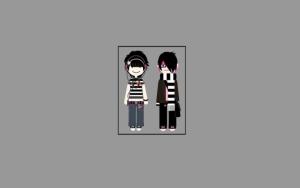 Эмо мальчик и девочка