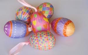 Пасхальные яйца в обертке