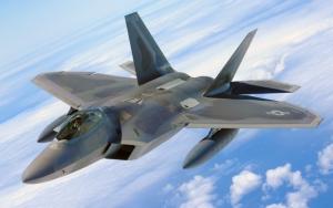Боевой истребитель F-22