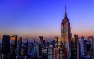Небоскреб в Нью-Йорке