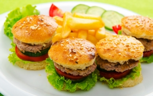 Мини гамбургеры