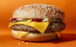 Чизбургер с сыром