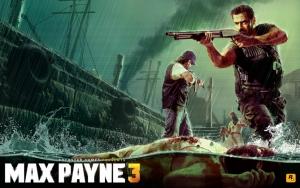 Max Payne на лодке