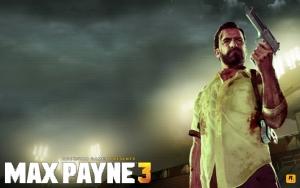 Max Payne с пистолетом
