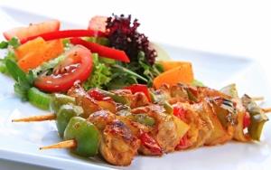 Шашлыки с овощами