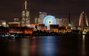 Иокогама ночью