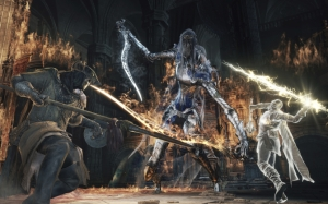 Dark Souls 3 сражение