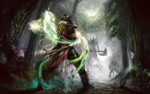 Маг против нежити
