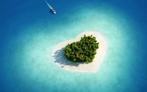Остров сердечко