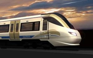 3D поезд