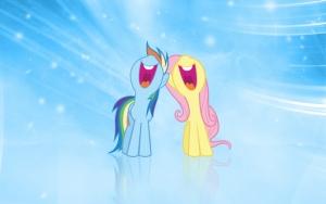 Пони поют