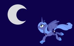 Принцесса Луна и Луна :)