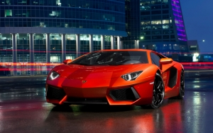 Стильный Lambo Aventador