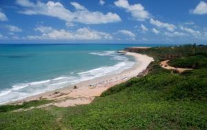 Пляж в Бразилии