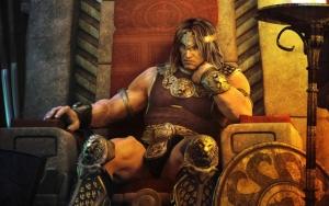 Воин на троне