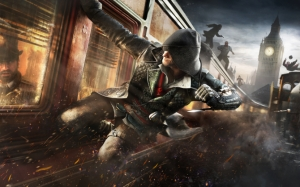 Assassin's Creed Syndicate поезд