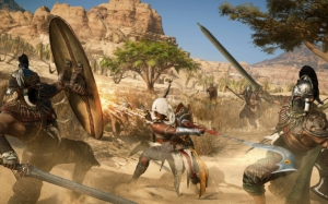 Assassin's Creed Origins бой