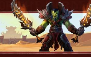 Орк с двумя мечами