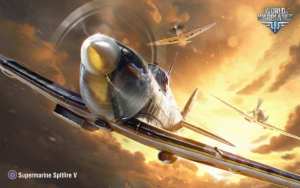 World of Warplanes Supermarine Spitfire V
