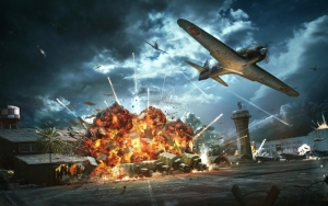 World of Warplanes взрыв