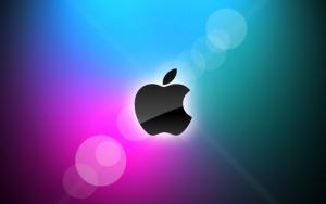 Apple черный логотип