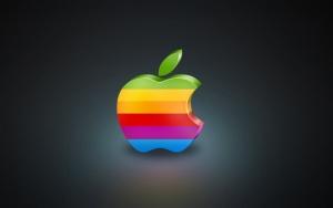 Радужное яблоко Apple