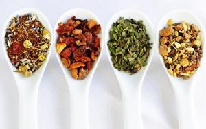 Виды листьев чая