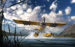 Far Cry 5 самолет
