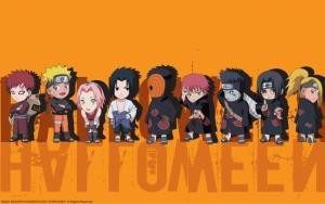Чибики персонажей Наруто