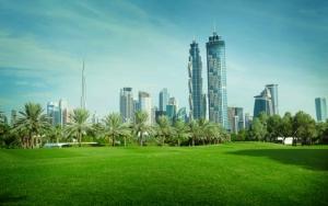 Зеленый Дубай