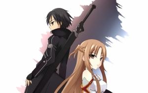 Мастера меча Кирито и Асуна