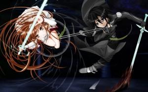 Мастера меча онлайн главные герои