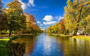Река в парке