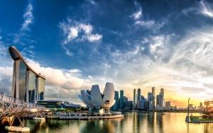 Сингапур на закате