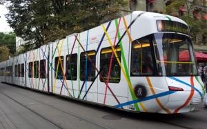 Белый трамвай