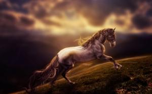 Фэнтези конь