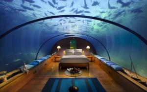Комната под водой