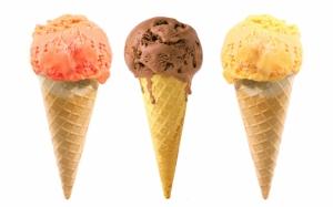 Рожки с мороженым