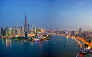 Река в Шанхае